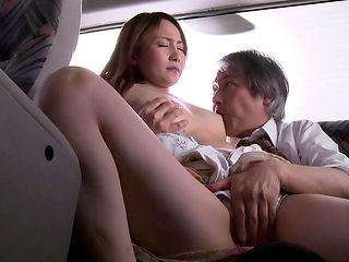 Misuzu Tachibana in Housewife Misuzu Convinced To Ride The Bus - MilfsInJapan