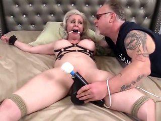 busty porcelain blond loves bdsm and sex punishment