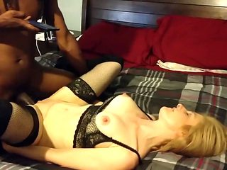 White Wife With Young Black