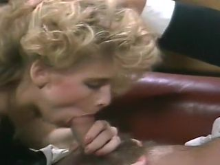 Secretary Drenched With Two Men's Semen