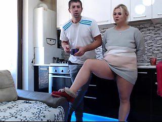 Amateur Blonde Closeup Anal Masturbation