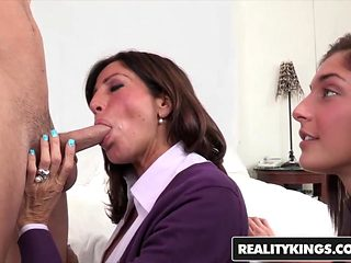 RealityKings - Moms Bang Teens - Mischa Brooks Seth Gamble Tara Holiday - Learning Sexercise