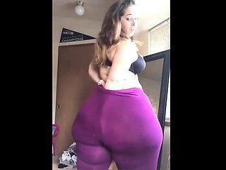 Solo my big ass BBW Girlfriend Carmitta
