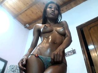 Amateur Anal Ebony Solo