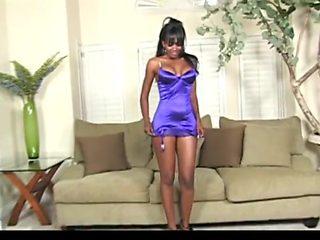 Huge Load For Black Beauty