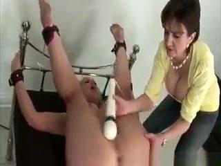 Busty Mature Stimulating Subs Clit Manually