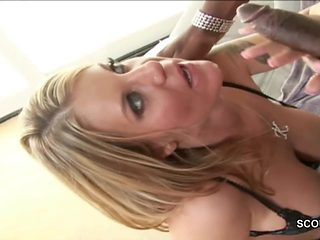 Cougar Seduce Big Cock Black Friend of Her Son to Fuck
