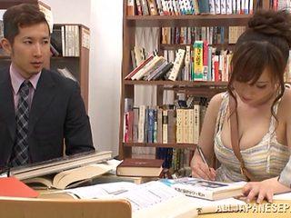 Chihaya Yutsuka hot Asian milf gets big tits fucked