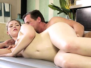 Beautiful Ella gets hammered by stepdadmassage, big cock, bl