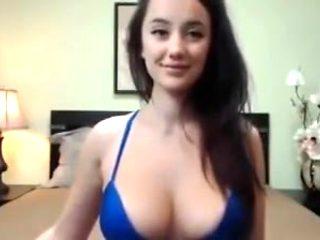 Sexy hot cam model