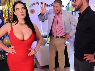 Angela White & Xander Corvus in Fappy New Year - BRAZZERS