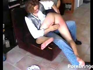 Spanking Session For Babe