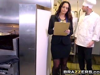 Brazzers - Big Tits at Work - Ava Addams Xander Corvus - The