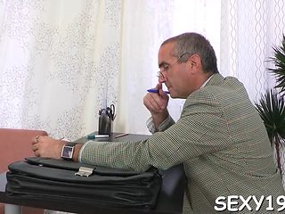 Teacher Is Getting Wet Blowjob Video Clip 4