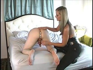 Husband milked in chastity