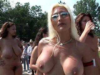 Exotic pornstar in crazy blonde, college porn movie