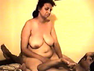Pakistani Punjabi stud pummeling Mom in law