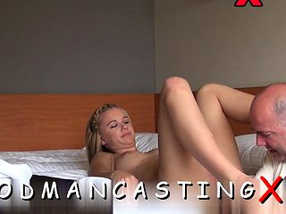 Sex appeal blonde darling craves for xxl dong