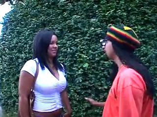 Ebony Brazilian Chick for White Boys