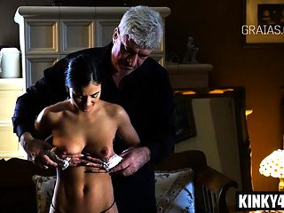 Hot pornstar bdsm and cumshot