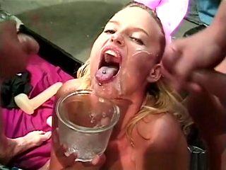 Fabulous pornstar Candi Apple in hottest masturbation, group sex porn movie