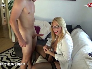 My Dirty Hobby - Blonde Babe Enjoys The Cock