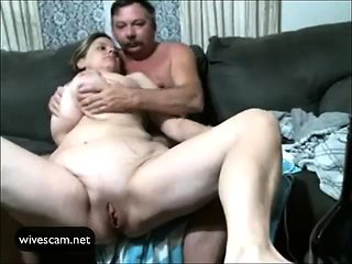 Mature couple first sex on cam amazing