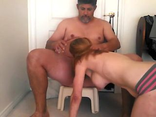 Incredible homemade Strapon, Big Tits sex clip