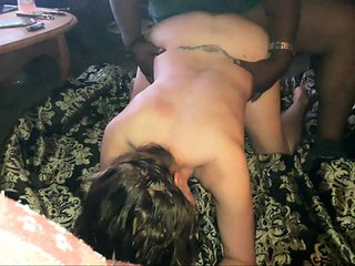 Blonde amateur milf does anal on pov camera 12