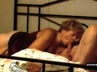 My mother 56 is a real sex maniac