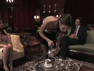 Busty business lady Isis Love is surprised to find out that her partner Steve Holmes is a modern ...