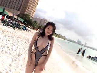 Amazing Japanese slut Shinobu Ebihara in Best Bikini JAV movie