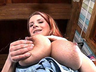 Big tits pregnant sex and cumshot