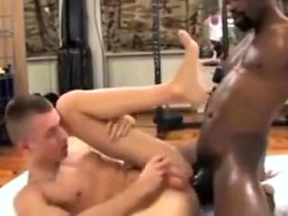 Interracial gym stories