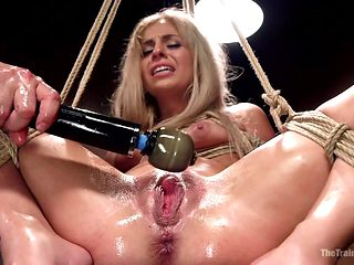 Hot Blondes Must Earn Their Orgasms - TheTrainingofO