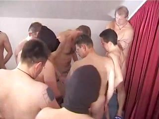 German mature with 12 Men