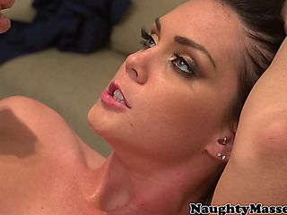 Alison Tyler Fucked On The Massage Table