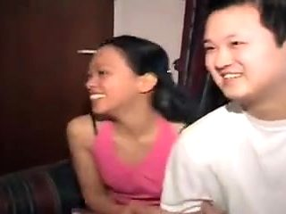 STP5 Filipino Husband Shares His Wife With Two Tourists !