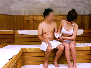 A Sexual Harassment In A  Japanese Sauna House