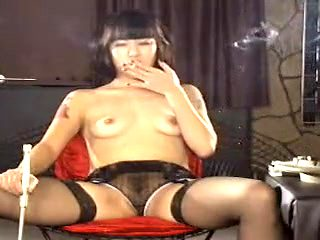 Exotic homemade Small Tits, Smoking porn scene