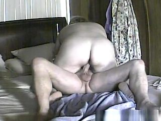 Big Cock Slides into Hairy Pussy
