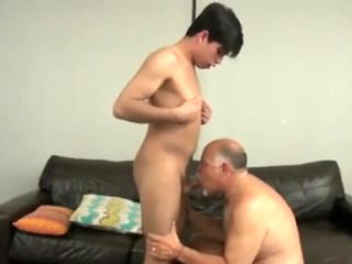 Daddy fucks me and also swallows