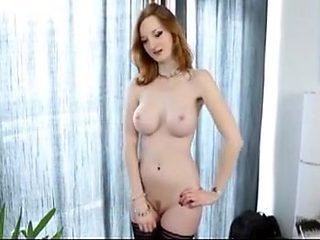 Crazy amateur Big Tits, Redhead sex movie