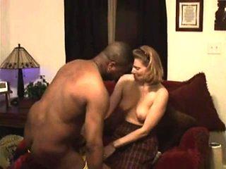 Filming interracial fun my blonde cuckold Jenna