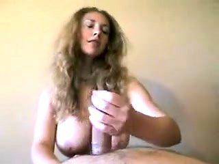 Horny homemade Handjobs, POV sex clip
