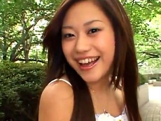 Japanese college girl idol blowjob service