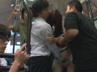 Public Fucking On A Crowded Bus With Yui Tatsumi