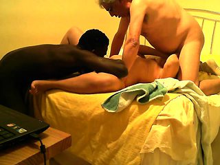 Chinese amateur 3P threesome