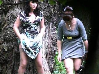 Brunette amateur girlfriend sucks and fucks outdoor