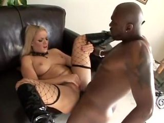 Hottest pornstar Heidi Mayne in horny fishnet, blonde xxx video
